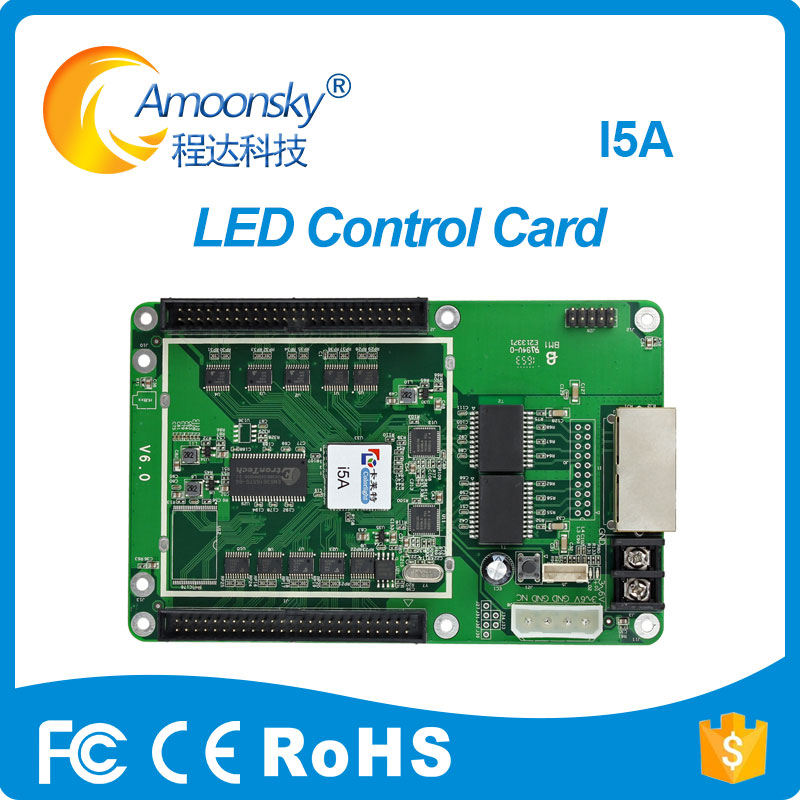 Good Price Colorlight I5A Full Color Receiving Card With 50pin Interface Matched With Colorlight  S2 Sender Control System