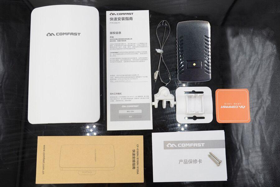 Comfast 2.4G/5G 300 Mbps mini extérieur sans fil CPE WIFI répéteur réseau pont pour WIFI signal récepteur envoyer CPE - 4