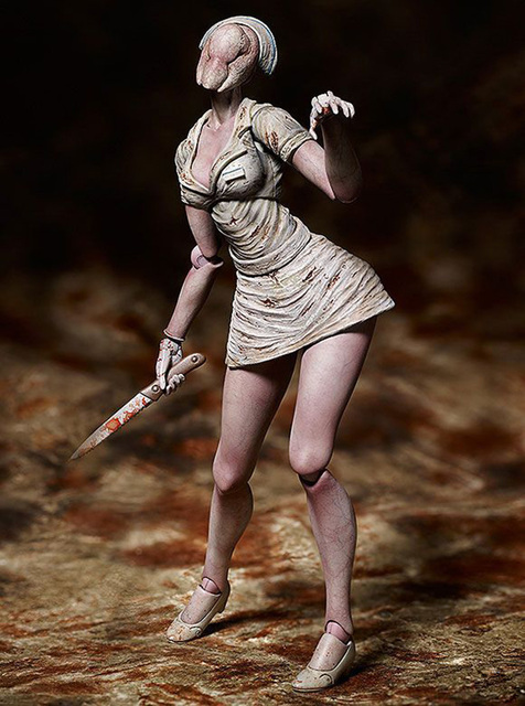 Movie Silent Hill II Variant Action Figure Bubble Head Nurse Figma SP-061 Toy Without Retail Box (Chinese Version) 4