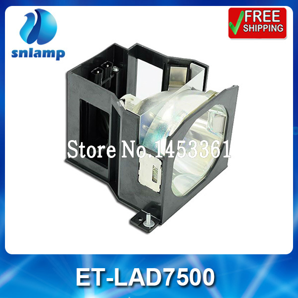 Replacement projector lamp bulb with housing ET-LAD7500 for PT-D7500 PT-D7600 et lab10 replacement projector bulb lamp with housing for panasonic pt u1x68 ptl lb20su pt u1x67 pt u1x88 pt px95 pt lb20