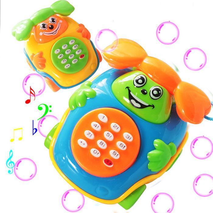 1 Pc Heißer Verkauf Kid Junge Mädchen Kleinkind Baby Bildungs Süße Cartoon Auto Spielzeug Handy Spielzeug Vocal Spielzeug Für Kinder Neue Angenehm Bis Zum Gaumen