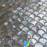 Whitelip shell mother of pearl mosaic tile for kitchen backsplash and bath room natural sea shell white color 5 square feet/lot