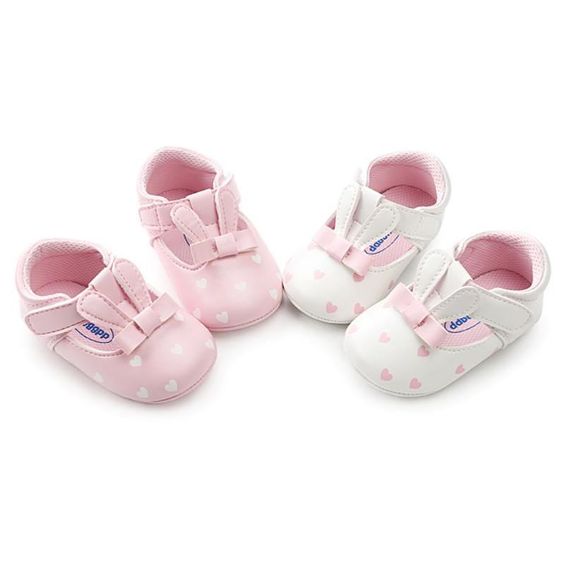 Hot Sale Baby Girl Shoes Cute Toddler Rabbit Shape First Walkers Spring Autumn Infant PU Leather Shoes For Party L1