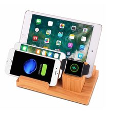 SZYSGSD Universal Charger Stand Holder Desk Mount For iPhone 8 X XS XR Charge Stand For iPad For Samsung S8 S9 Cell Phone Stand(China)