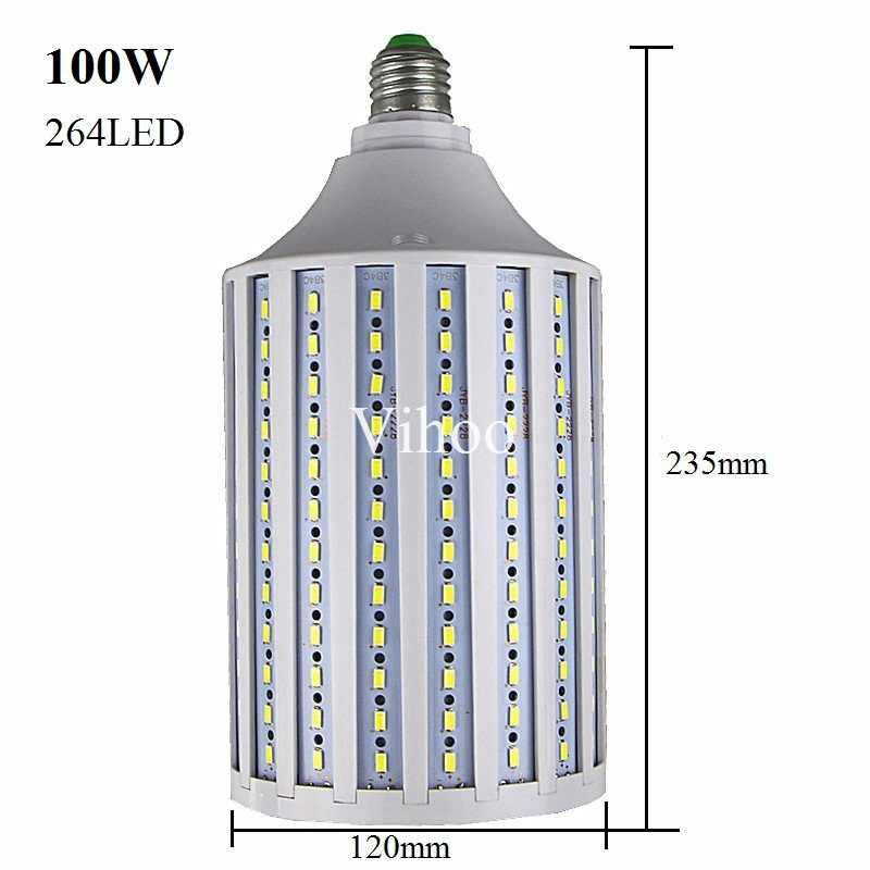 Lampada חדש E27 B22 E40 7 w 12 w 15 w 25 w 30 w 40 w 50 w 60 w 80 w 100 w 220 v 110 v LED תירס הנורה אור droplight תאורת downlight מנורה