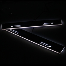 SNCN LED Car Scuff Plate Trim Pedal Door Sill Pathway Moving Welcome Light For Hyundai Tucson 2015 2016 Badge Emblem Acrylic sncn led car scuff plate trim pedal door sill pathway moving welcome light for audi a3 s3 2014 2015 2016 waterproof acrylic