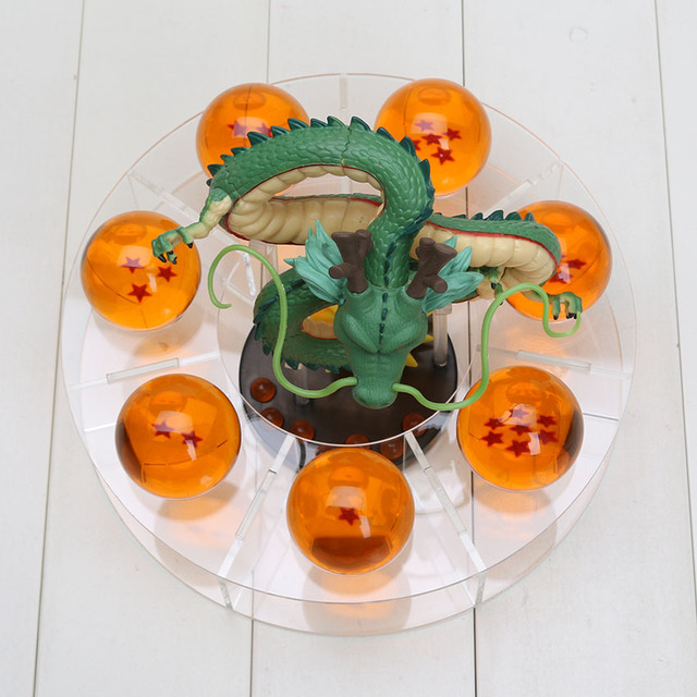 Dragon Ball Z Action Figures Shenlong and Dragon Balls