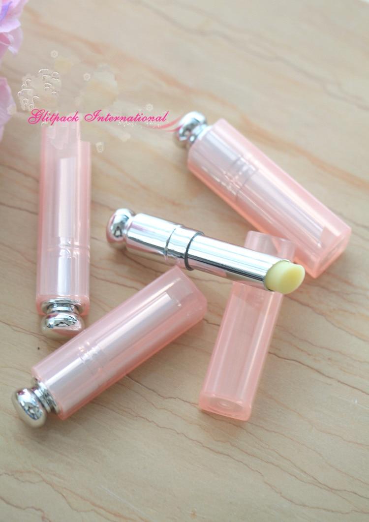 50pcs / lot DIY 수제 베이비 핑크 독특한 립 밤 컨테이너 도매 립스틱 튜브 포장 제조 업체
