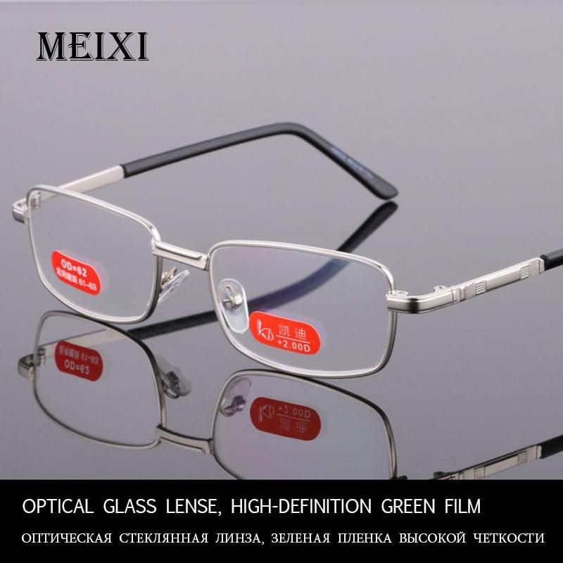 Optical Glass Lense, High-definition Green Film Reading Glasses Women Men Unisex Eyewear +1.0 1.5 2 2.5 3 3.5 4 4.5 5 5.5 6
