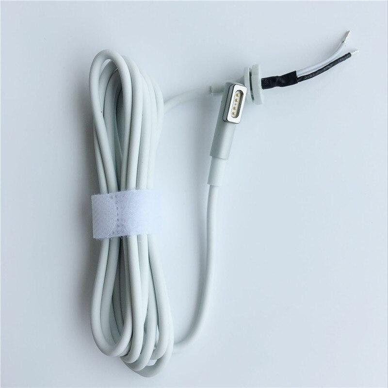 Reemplazo de alta calidad 175 cm L punta magnética Cable para Magsaf * 1 Apple Macbook Pro aire 45 W 60 W 85 W cargadores adaptador de corriente