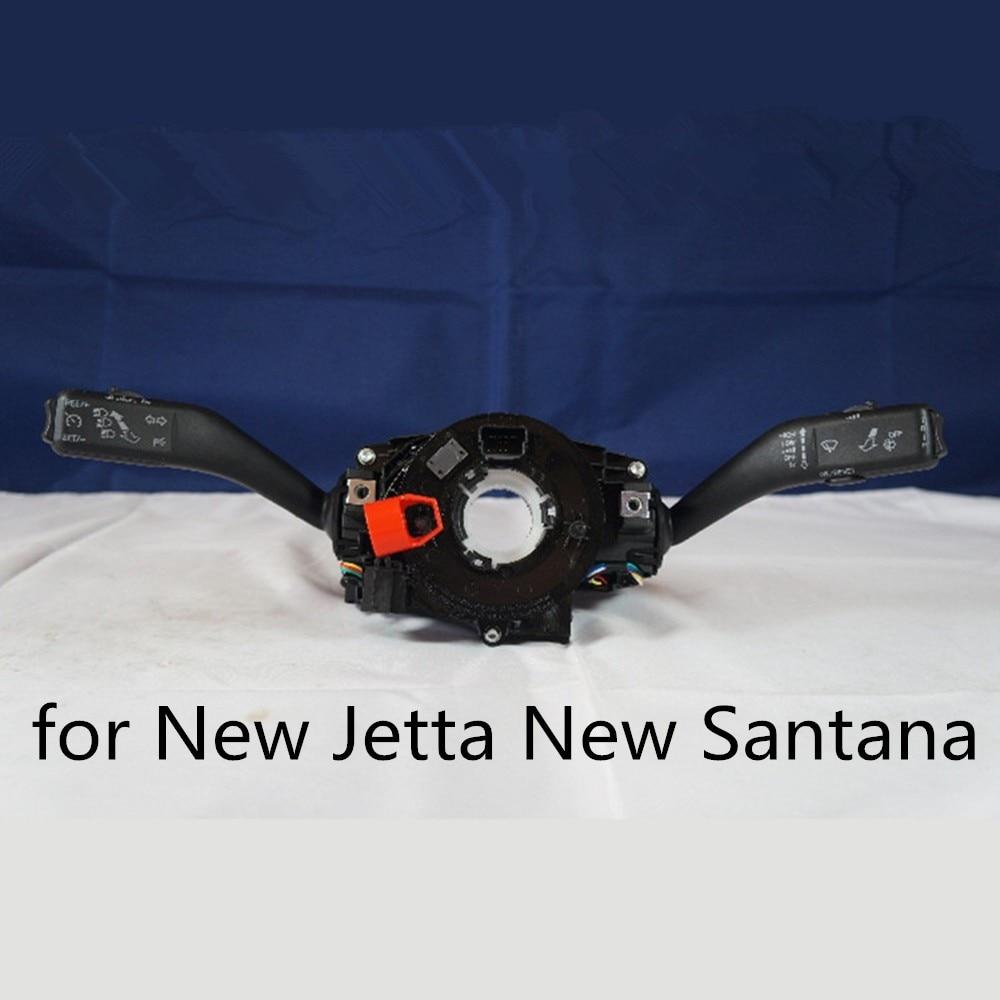 ФОТО Polarlander 100% New Steering Column Handler Headlight Switch 34D953521aTurn Signal Switch for New J/etta New S/antana