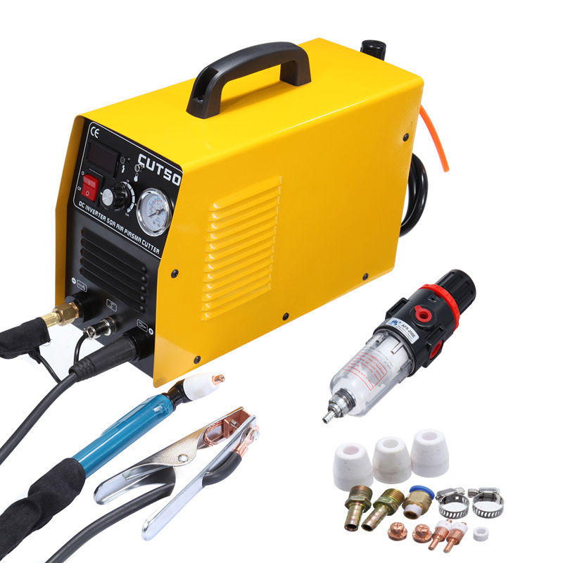 Portable DC inverter plasma cutter with Pressure Gauge Waterproof 5.5KVA 220V ship from germany portable dc inverter plasma cutter with pressure gauge waterproof 5 5kva 220v