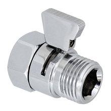 Bagnolux Высокое качество продвижение бренд полированный хром душевая головка запорный клапан латунь с латунной ручкой