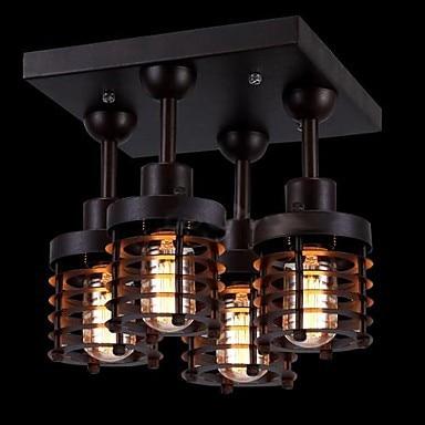 Loft Style rétro ampoule Edison Vintage industrielle plafonnier avec
