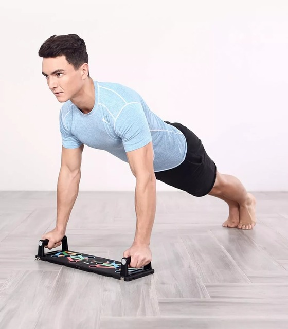 Protable Push up Support Board Exercise equipment for home and Gym Training Power Press Push Up Stands