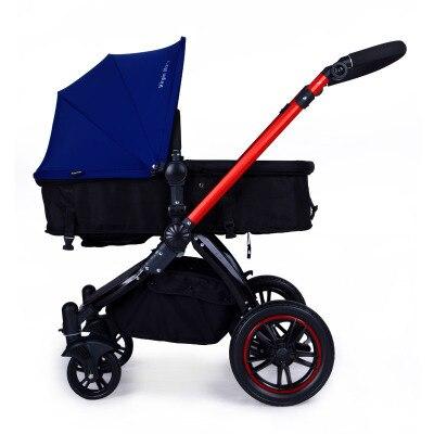 Four Wheels Stroller Hot mom baby stroller high sitting lay light folding four wheel shock absorber baby stroller Baby Stroller