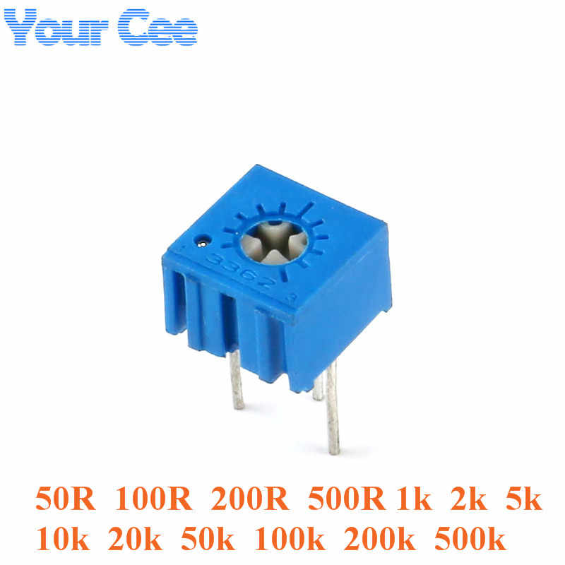 5pcs 3362P-502 3362 P 5K ohm High Precision Variable Resistor Potentiometer uk