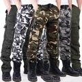 Армия Тактические военная форма брюки армии военный мужчины тактические брюки камуфляжные брюки-карго