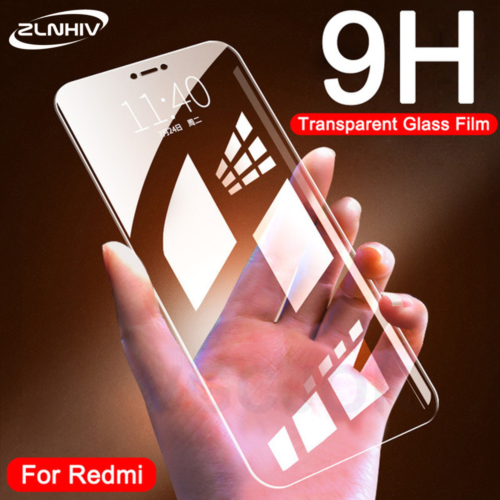 ZLNHIV <font><b>glass</b></font> for <font><b>xiaomi</b></font> <font><b>redmi</b></font> s2 note <font><b>4</b></font> 4X 5 plus 5A 6 6A pro protective film for <font><b>redmi</b></font> 6 <font><b>tempered</b></font> <font><b>glass</b></font> phone screen protector image