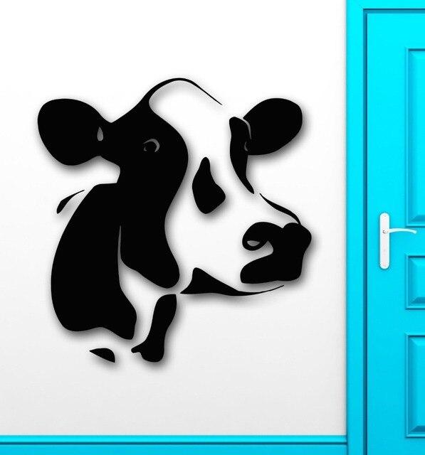 Maison Viande Animal Vache Lait Ferme Village Decor Papier Peint