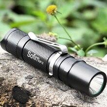 SF12 Mini LED Flashlight Cree XPG2 400 Lumens Powerful Portable Pocket light LED Torcia Waterproof Torch AA Penlight Lanterna