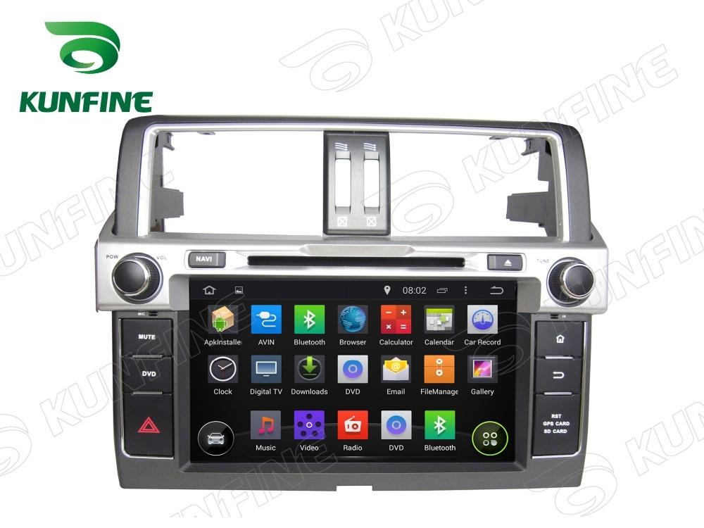 Octa Core 2 GB RAM Android 6.0 voiture DVD GPS Navigation lecteur multimédia voiture stéréo pour Toyota Prado 2014 Radio Headunit