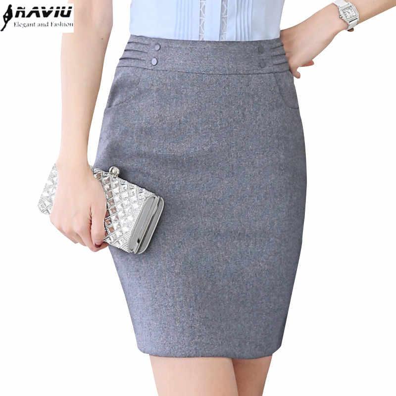 1def87781a NAVIU elegante y de moda falda de las mujeres para la primavera verano OL  Oficina Formal