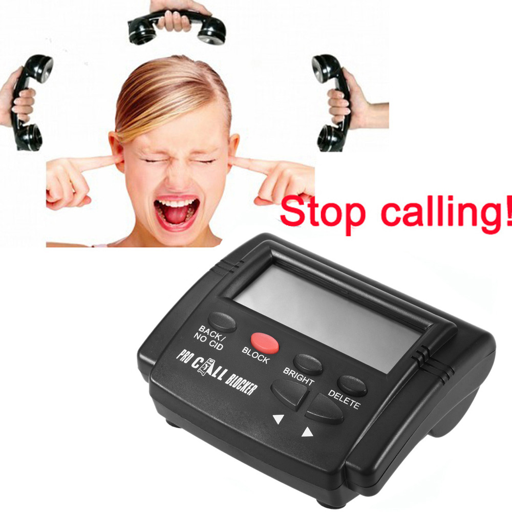 Caller ID Call Blocker Box 8