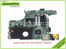 CN-07NMC8 Laptop motherboard for Dell Inspiron N4050 ATI HD 6470M 1GB graphics HM67 DDR3 Mainboard board+free shipping