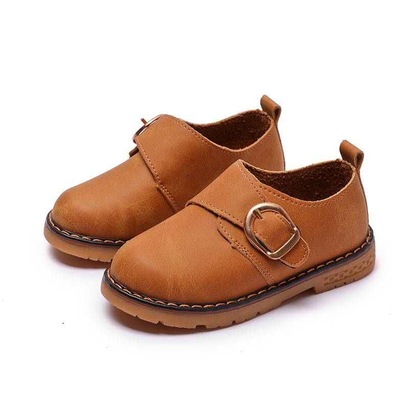 Kids Leather Shoes Children Footwear Toddler Boys School Shoes Fashion Kids Casual Boot Boy Child Shoe