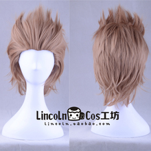 Game FF15 Final Fantasy XV Ignis Stupeo Scientia Wig Short Hair Halloween Role Play