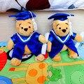 Cute Graduation Bear Soft Stuff Plush Toy Doll Baby Children Birthday Gift