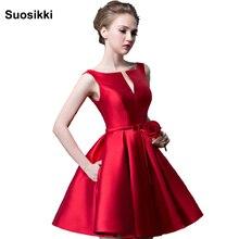 Suosikki/Новинка года; модное короткое дизайнерское платье цвета фуксии на шнуровке; вечерние платья для невесты; коктейльное платье
