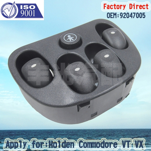 Factory direct auto electric power driver master control window factory direct auto electric power driver master control window switch apply for holden vt vx commodore sciox Images