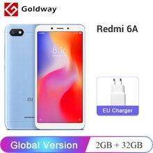Orijinal Küresel Sürüm Xiaomi Redmi 6A 6 Bir 2 GB 32 GB ROM Cep Telefonu Helio A22 Dört Çekirdekli 5.45