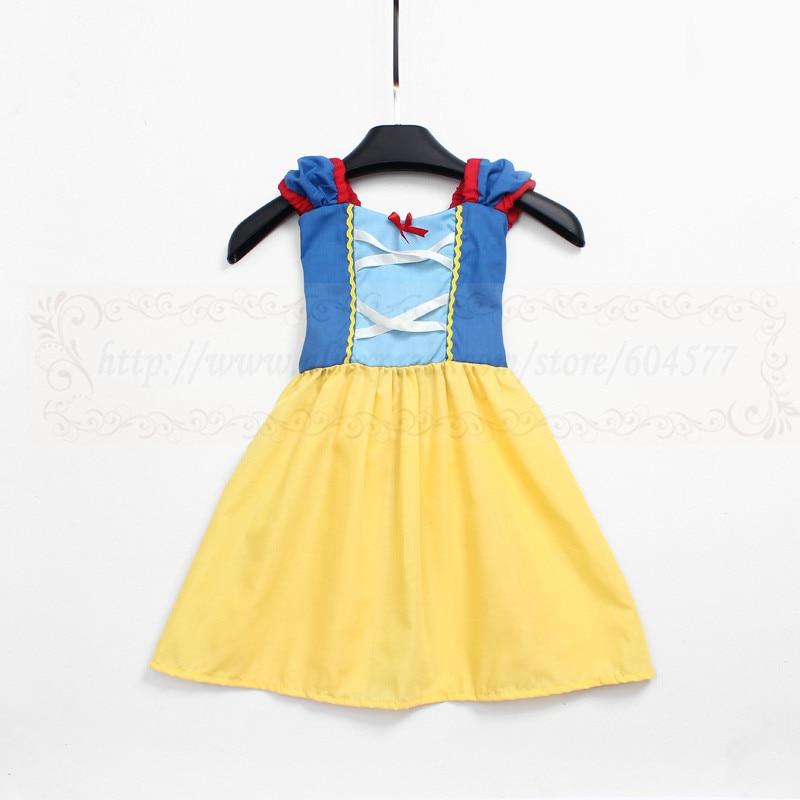 Snow Costume princess dress for girls practical princess dress style Cosplay