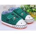 0-18 Months Infant Toddler Baby Dinosaur Pattern Soft Sole Crib Hook&Loop Walking Toddler Sneakers First walkers Prewalker Shoes