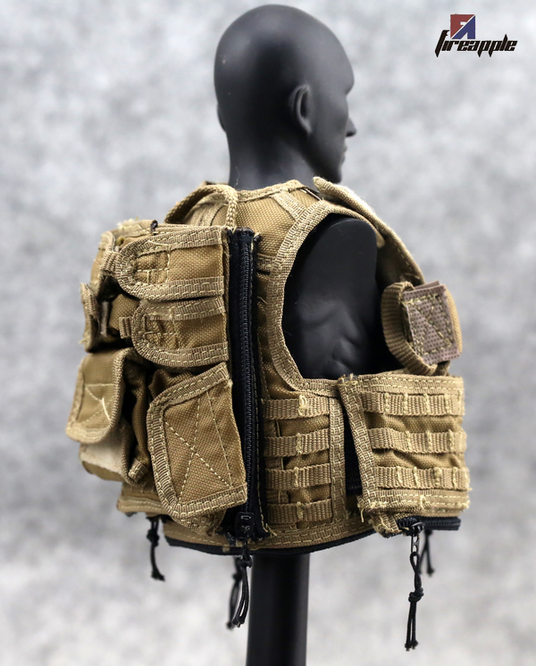 1 6 soldiers PLAYHOUSE PH US arm brace tactical vest model with good quality guan Action