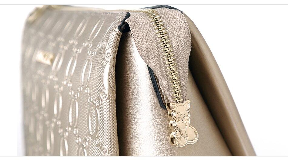 Foxer moda feminina bolsa de ombro de