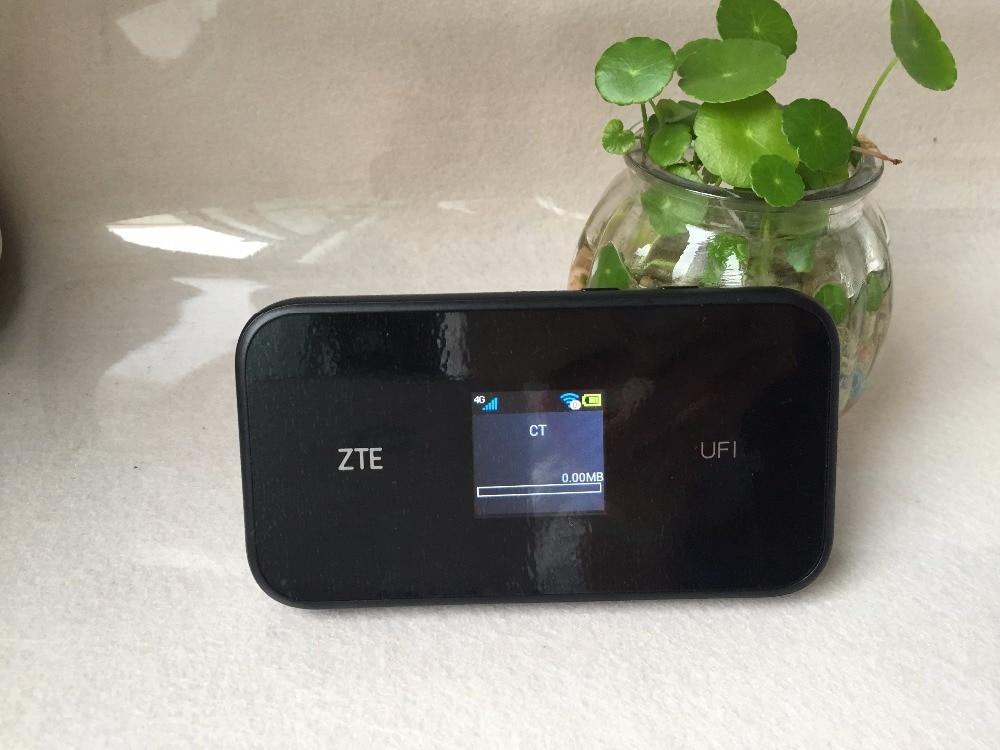 (Huawei)ZTE MF980 UFi LTE Mobile Hotspot 4G+ LTE cat9 wifii router FDD-LTE: B1/B3/B5(26)/B7/B8/B20/B28/B32 PK MF970