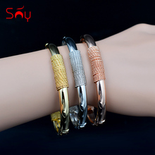 Sunny Jewelry Hot Selling Round Bangles Set Classic Jewelry