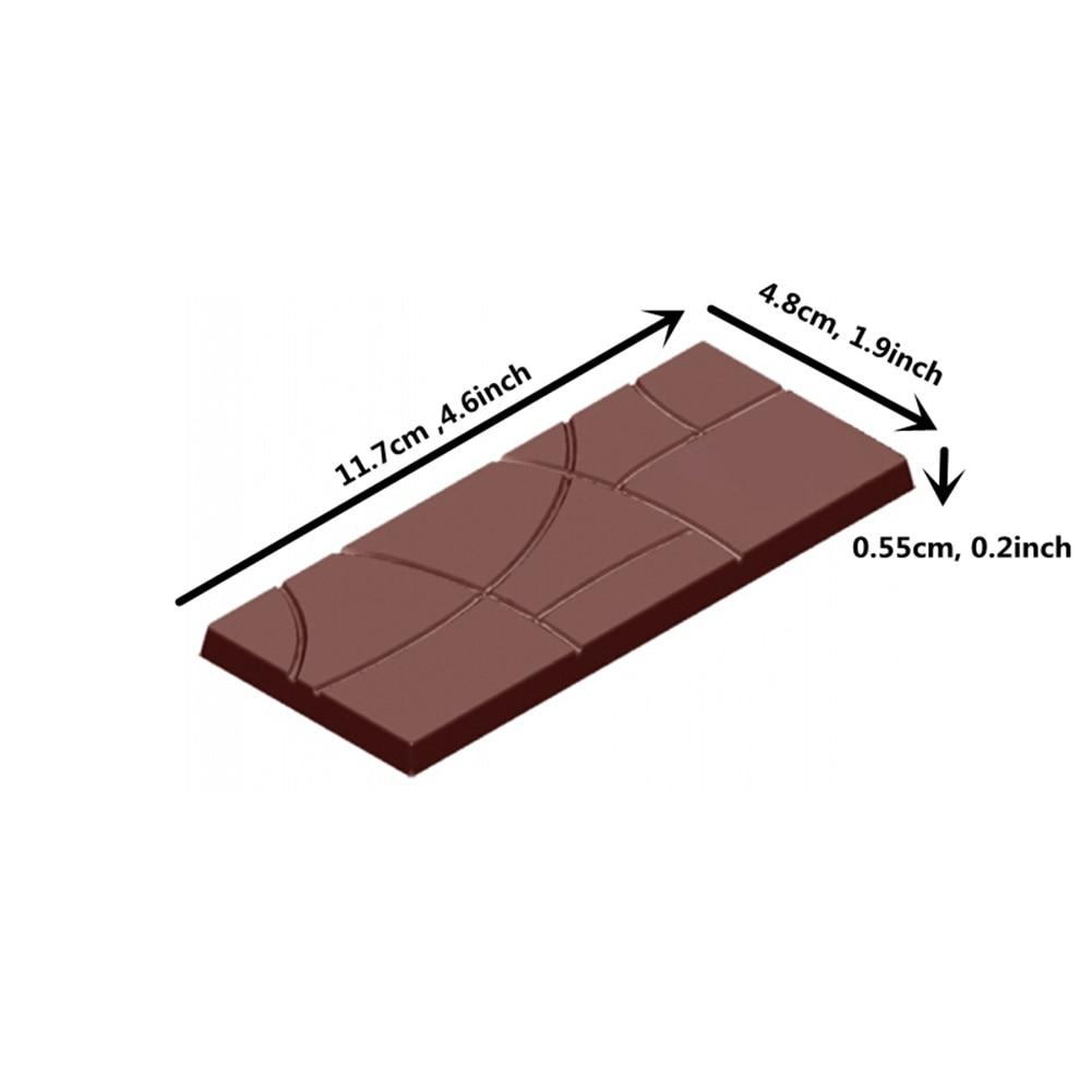 Acheter BRICOLAGE cuisine cuisson Bar forme Polycarbonate chocolat moule gâteau décoration confiserie outil Fantaisie Bonbons Barres de Chocolat Moule de Ustensiles de cuisine fiable fournisseurs