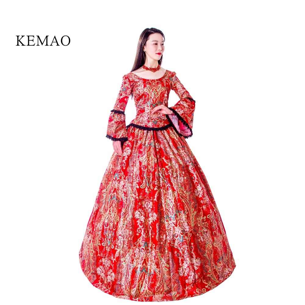 b06e157371f5 ... Women's Dress Outfits Party Costume High-end Court Rococo Baroque Marie  Antoinette Ball Dresses 18th