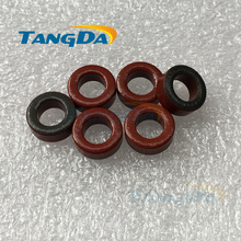 Tangda T50 Iron powder cores T50-2 OD*ID*HT 13*7.5*5 mm 4.9nH/N2 10uo Iron dust core Ferrite Toroid Core Coating Red gray A.