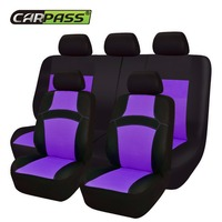 Cute Fashion Automobile Seat Covers Universal Fit Car Styling 7 Colors Car Covers Mesh Cloth Seat