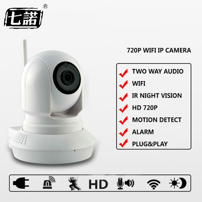 Family Security HD 720P 1.0MP PTZ Wifi IP Camera IR-Cut Night Vision Two Way Audio CCTV Surveillance 720P IP Camera Wireless P2P 1 4 cmos 720p 1mp security cctv camera two way audio ir cut video surveillance night vision wifi ip camera support 64g tf card