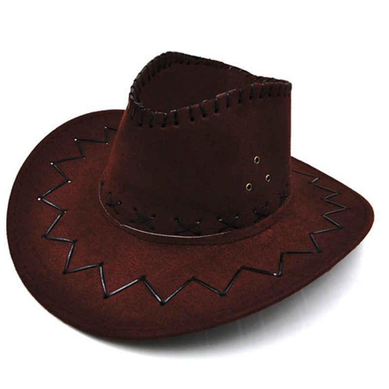 2017 moda Chapeu hasır kovboy sonbahar yaz bahar güneş şapkası kovboy şapkası erkekler ve kadınlar kapaklar