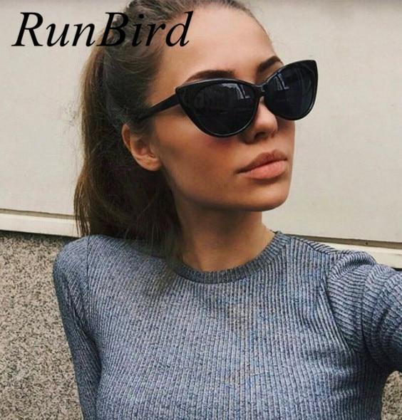 Новая мода Винтаж кошачий глаз Солнцезащитные очки для женщин Для женщин люкс Ретро Защита от солнца Очки большой Рамки Брендовая Дизайнерская обувь Óculos gafas-де-сол женщина r531