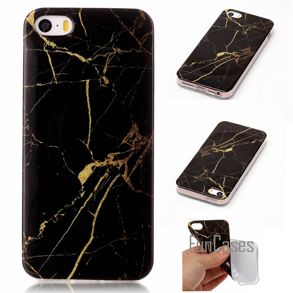 Silicone Marble Vein Case For fundas iPhone 5s 5 SE Case iphne calda appale etuiji phone5 debloque ipjone telefonni iphione