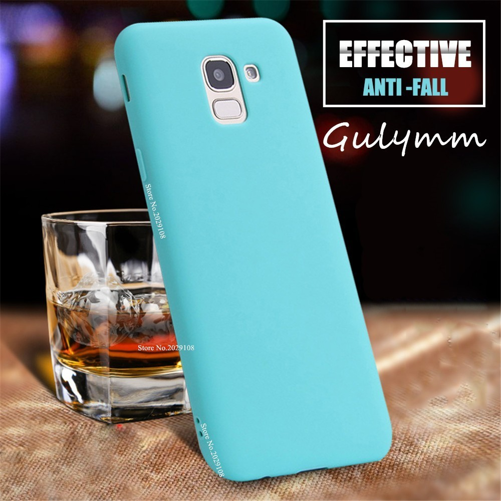 Ultra thin Soft TPU Case Candy Color Case for Samsung Galaxy J2 J4 Core J 4 6 S10 Plus A M 10 20 30 40 50 60 70 2019 Shockproof in Fitted Cases from Cellphones Telecommunications